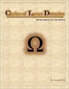Clerics of Lesser Domains