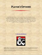 Player's Options