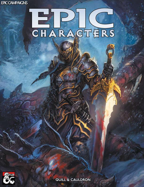 Epic Characters Dungeon Masters Guild Pegasus Digital
