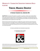 Truly, Madly, Deeply-Module 00