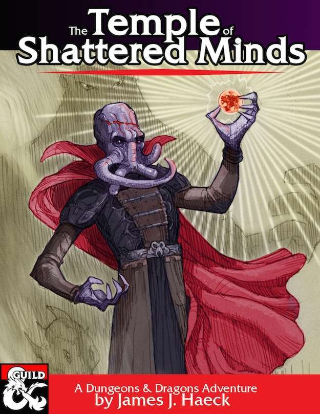 Cover of The Temple of Shattered Minds