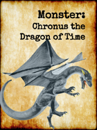 5e Monster: Chronus, the Time Dragon
