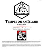 RPG002 Temple on an Island