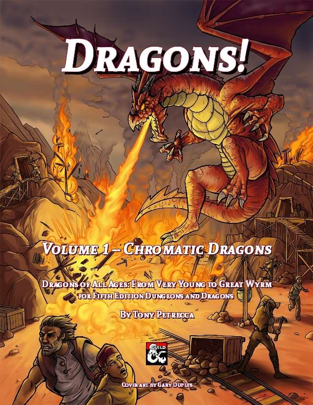 Dragons! Volume 1 - Chromatic Dragons cover