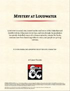 Mystery at Loudwater