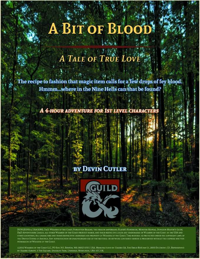 Cover of A Bit of Blood