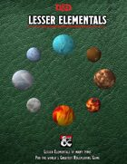 Lesser Elementals