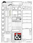 photograph regarding 5e Character Sheet Printable identify PDF
