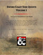 Sword Coast Side Quests Volume 1: The Lair of Kragnoroth the Drunk