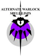 Alternate Warlock Spell Lists