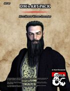 ART007 Male Human Wizard Stock Art