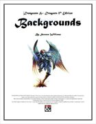 Backgrounds, Vol. 1
