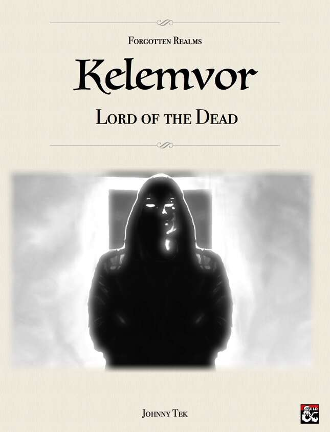 KELEMVOR, Lord of the Dead ✧ Forgotten Realms 5e - Dungeon Masters Guild |  Dungeon Masters Guild