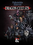 Dragon Cultists Paper Miniatures