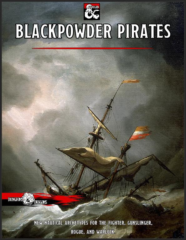 Blackpowder Pirates - Dungeon Masters Guild | Dungeon