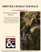 Shifter Character Race