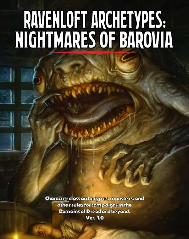 Cover of Ravenloft Archetypes I: Nightmares of Barovia