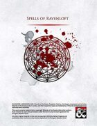Spells of Ravenloft
