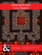 Dungeon Maps: Lava Temple