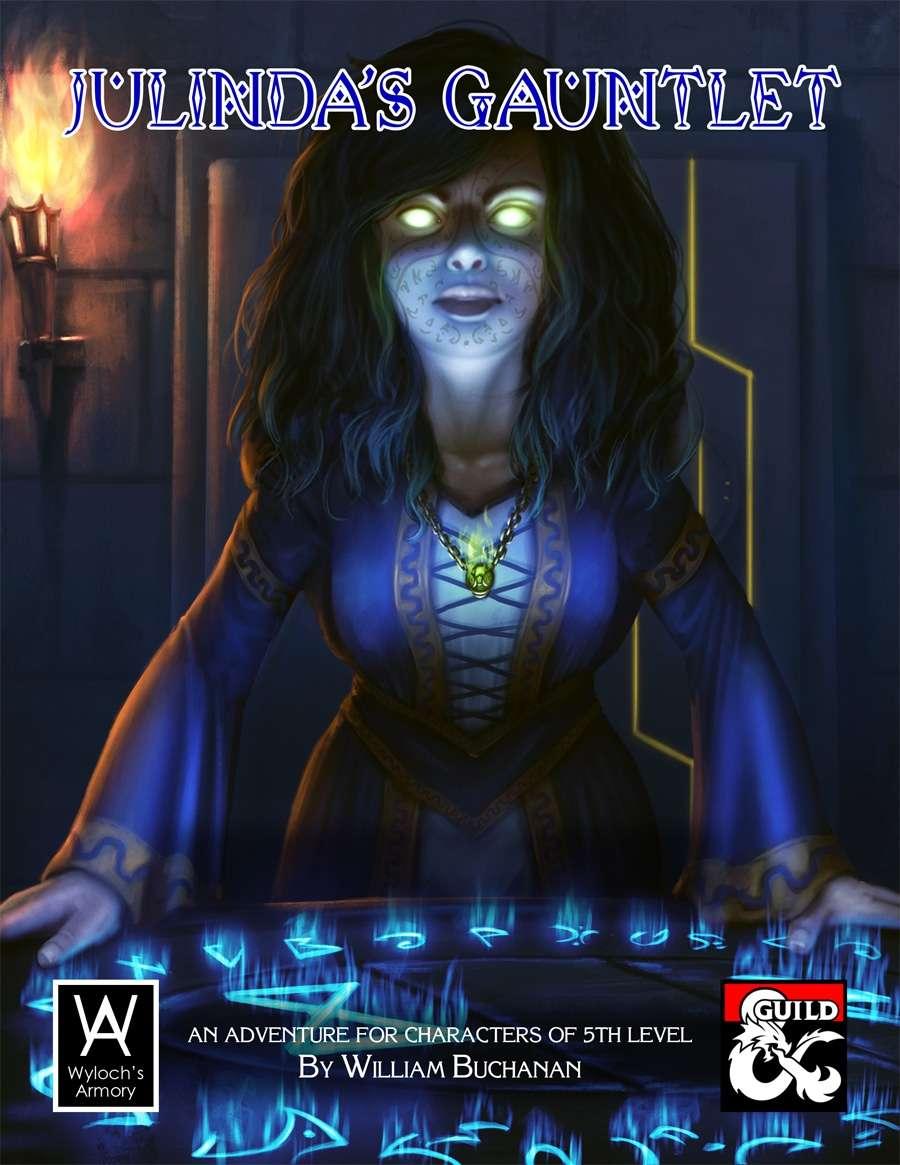 Cover of Julinda's Gauntlet