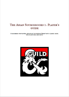 The Asian sourcebook 1: The player's guide