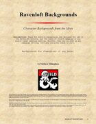 Ravenloft Backgrounds