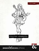Bard Subclass: College of Harmony