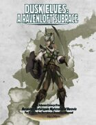 Dusk Elves: A Ravenloft Subrace