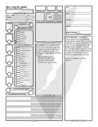 Paladin Character Sheet (Fillable Form)