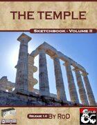 Sketchbook Vol. II - The Temple