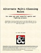 Alternate Multi-classing Rules