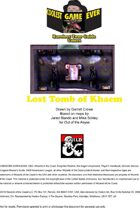 The Lost Tomb of Khaem Map Set