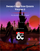 Sword Coast Side Quests Volume 2: The Laboratory of Raoul Footpad