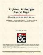 Fighter Archetype - Sword Mage