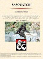 Sasquatch Character Race