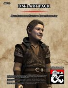 ART013 Male Lightfoot Halfling Rogue