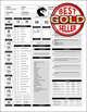 5e Excel Character Sheet
