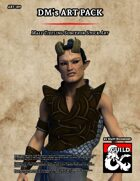 ART189 Male Tiefling Sorceror Stock Art