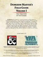 Dungeon Master's Field Guide Vol. I: Chimeras