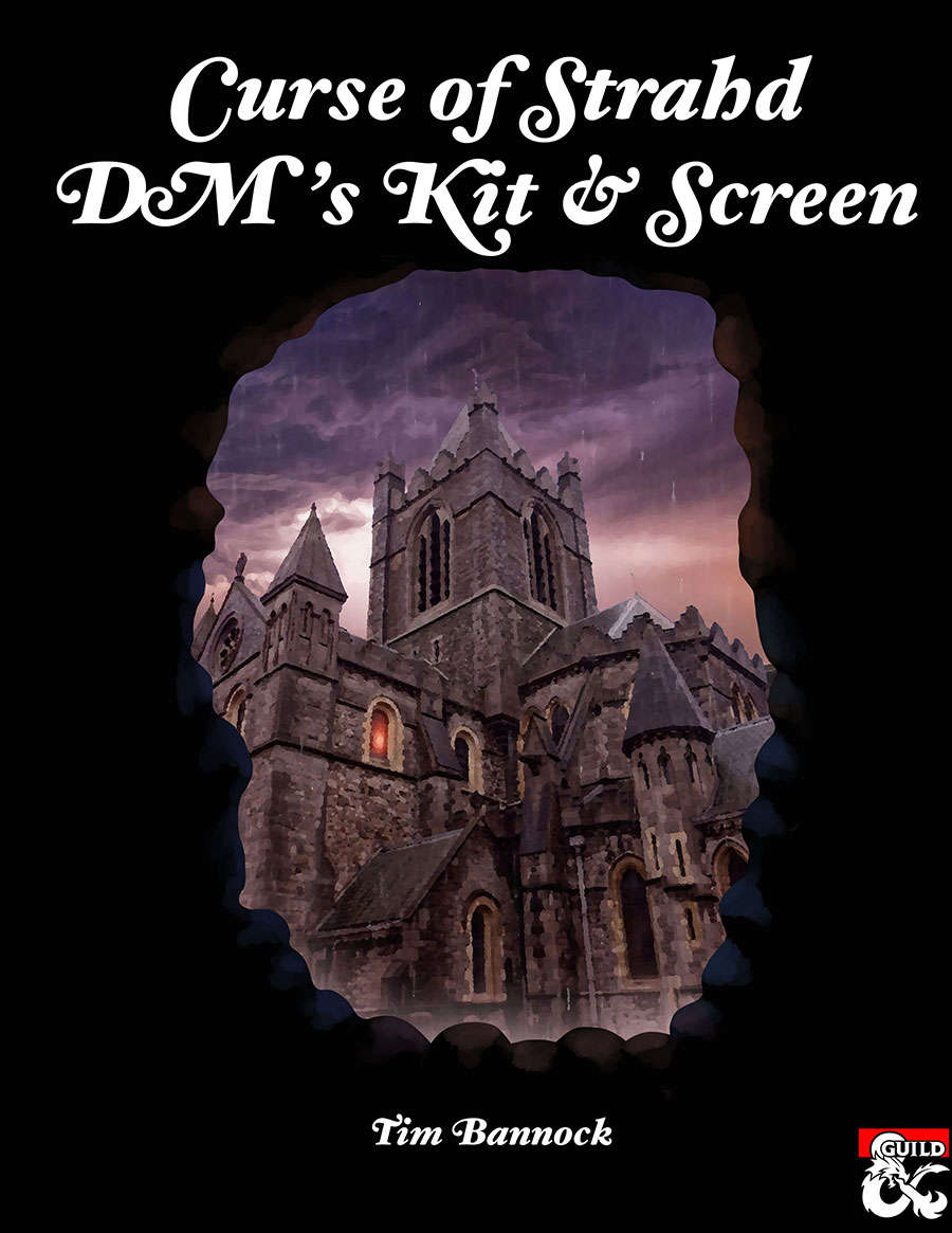 Curse of Strahd DM's Kit & Screen - Dungeon Masters Guild | Dungeon Masters  Guild