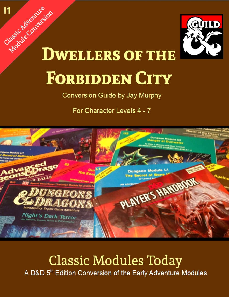 Classic Modules Today: I1 Dwellers of the Forbidden City 5e - Dungeon  Masters Guild | DriveThruRPG com