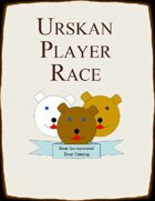 Urskan - An Updated Player Race for Bear Lovers