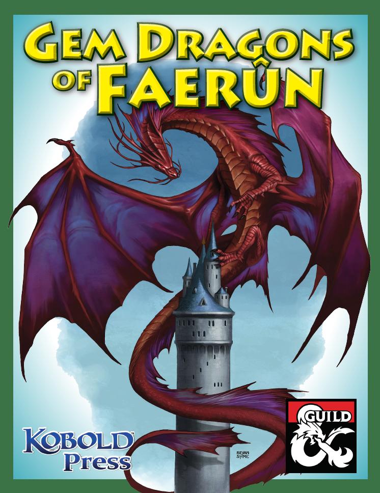 Gem Dragons of Faerûn - Dungeon Masters Guild | Dungeon