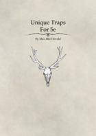 Unique Traps for 5e