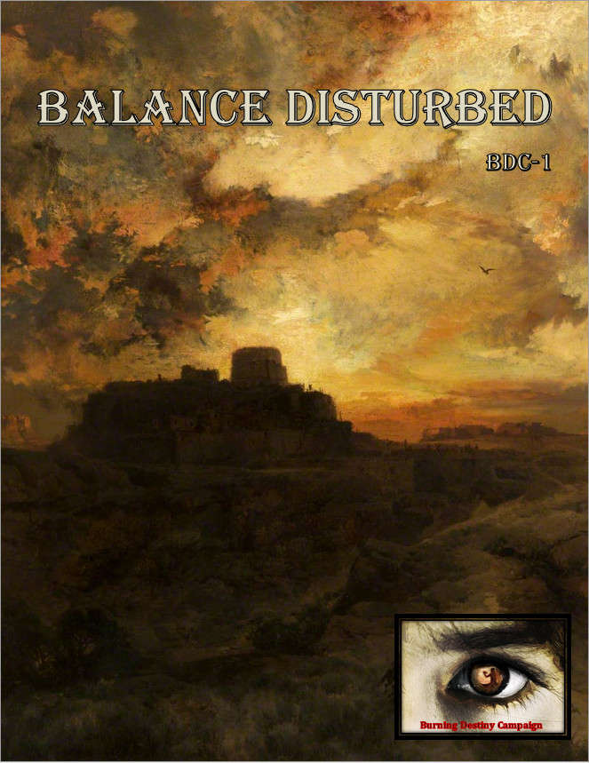 Cover of Balance Disturbed (BDC-1)