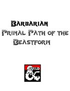 Barbarian Primal Path of the Beastform