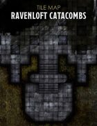 Ravenloft Catacombs Map