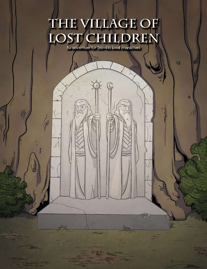 Cover of The Village of Lost Children