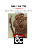 Call of the Wild - The Witch Class and Archetypes for Harnessing Primal Power (5e)
