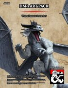 ART920 White Dragon Stock Art
